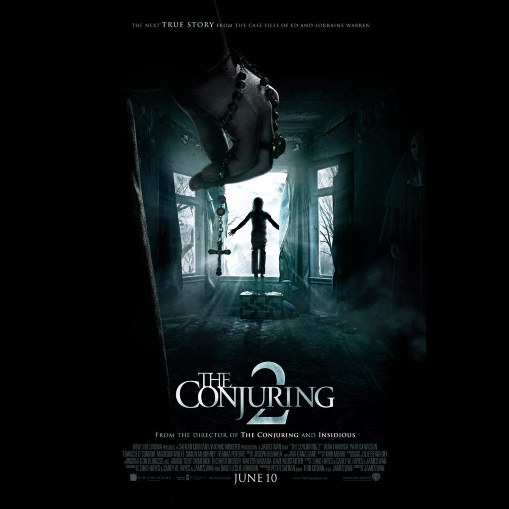 is the conjuring 2 based on a book