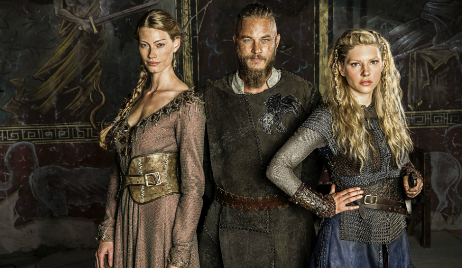 Ragnar Lothbrok Aslaug and Lagertha