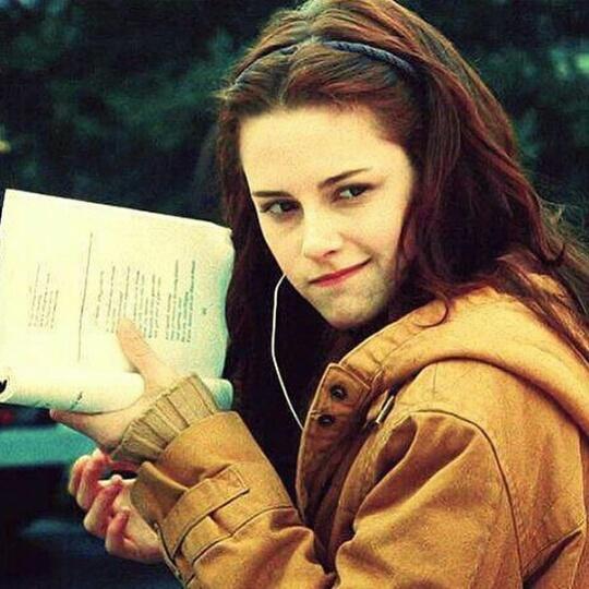 Kristen Stewart reading list
