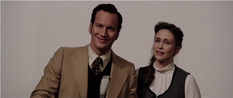 Patrick Wilson Vera Farmiga Ed and Lorraine Warren