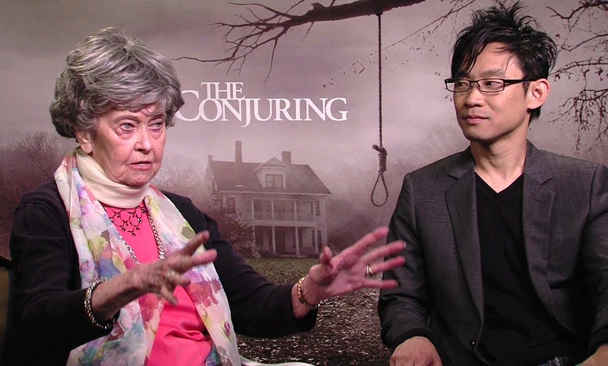 Lorraine Warren and director James Wan